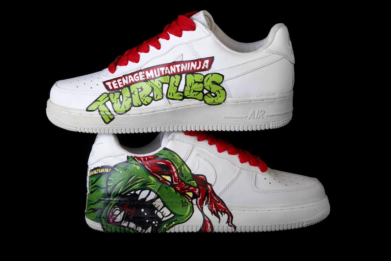 Custom Paint Shoes Uk