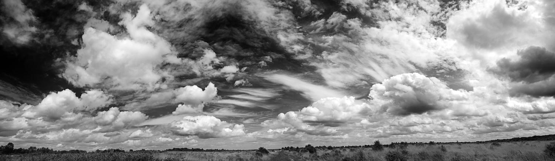 Sky Panoram_b+w