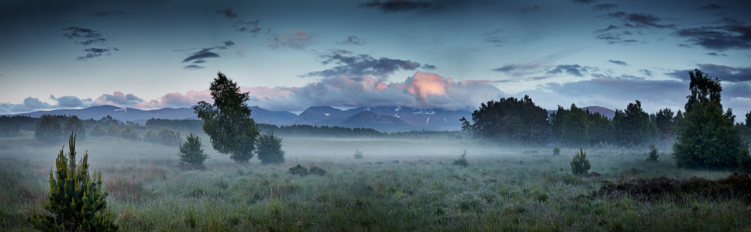 View of Cairngorms from Spey Valley_layers